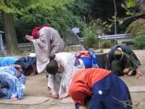 宝巌寺で踊り念仏