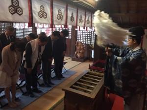 厳島神社祈願①